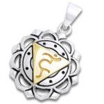 Chakra vedhæng 5 Chakra – Vishuddaishudda – Halschakraet – u/kæde