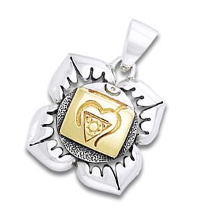 Chakra vedhæng 1 Chakra – Muladhara – Rodchakraet – u/kæde
