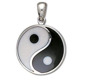 Yin Yang vedhæng – u/kæde