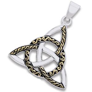 Vedhæng med Triquetra – Treenighedssymbolet – u/kæde