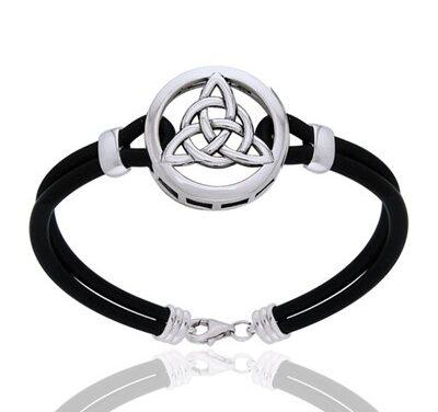 Armbånd med Triquetra – Treenighedssymbolet – 21cm