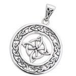 Vedhæng Keltisk 4 punkts knude – u/kæde
